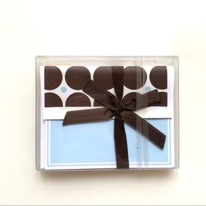 I 💗 OFFERS - 10 baby blue cards w/ envelopes